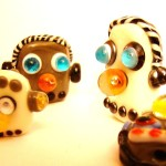 Lampwork beads tutorial beads of courage by EVa Cadkova