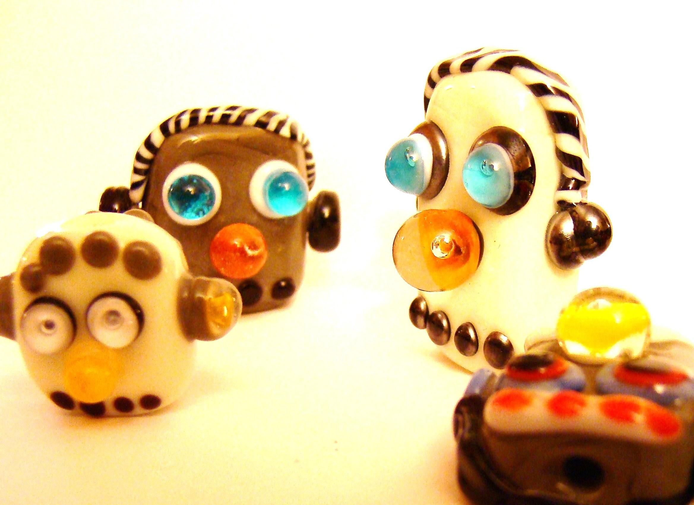 lampwork beads tutorial beads of courage by eva cadkova
