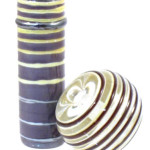 Straight line stringer lampwork bead free tutorial by JC Herrell