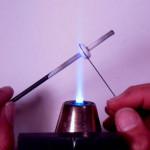 Stringer application lampwork bead free tutorial by JC Herrell