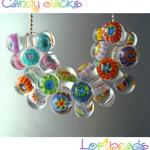 free lampwork bead tutorial candy jacks murrini lori peterson